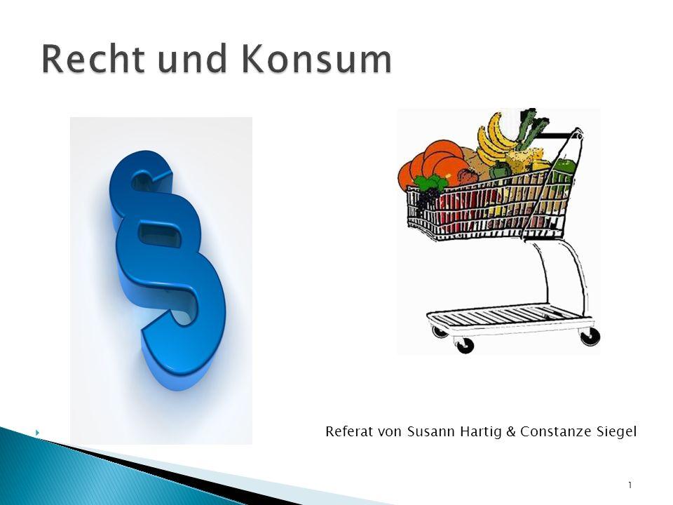 Referat von Susann Hartig & Constanze Siegel 1