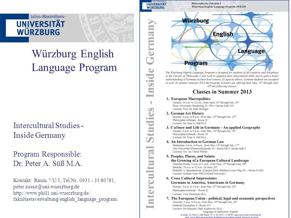 Was erfahre ich wo? www.anglistik.uni-wuerzburg.de