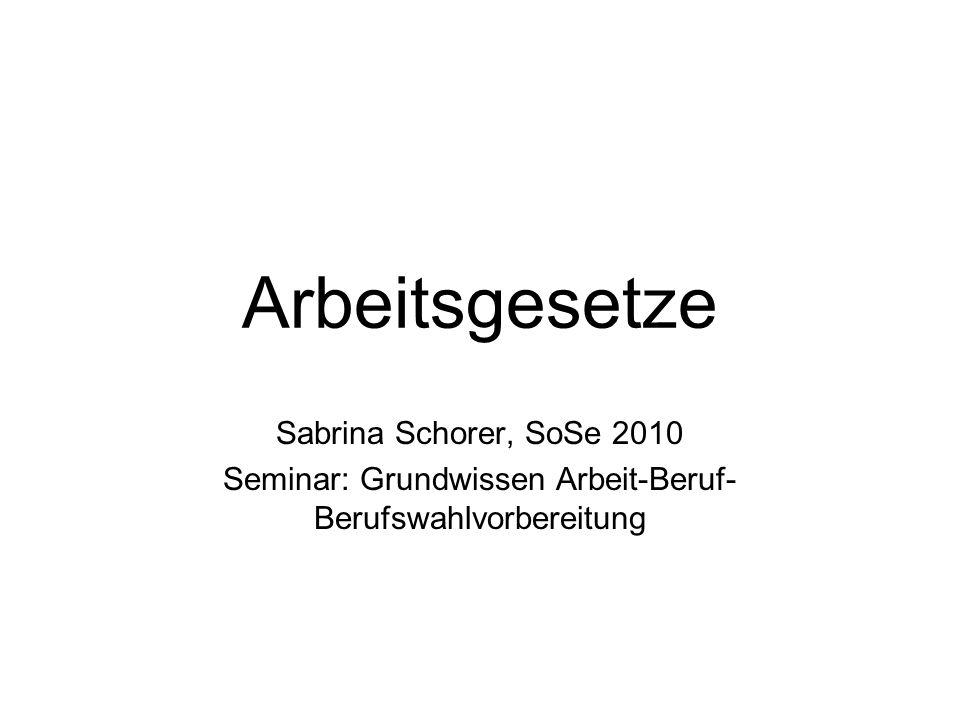 4. Kündigungsschutzgesetz (KSchG)