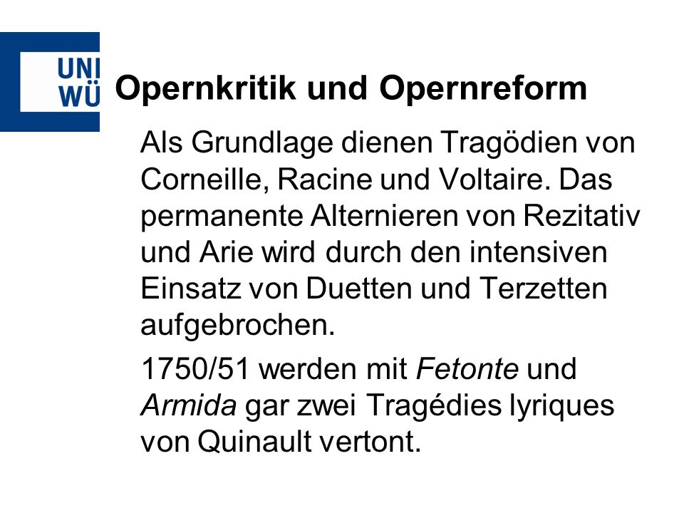 Gluck – Orfeo ed Euridice Akt IAm Grab Euridikes Trauerchor, Rec.+Arie d.