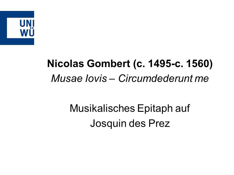 Nicolas Gombert (c.1495-c.