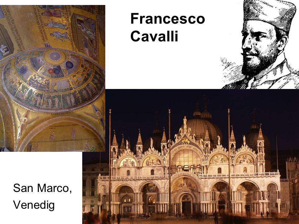 Francesco Cavalli San Marco, Venedig