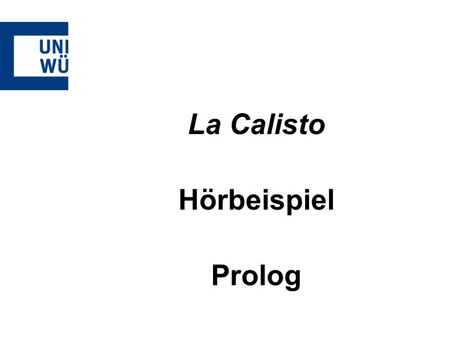 La Calisto Hörbeispiel Prolog