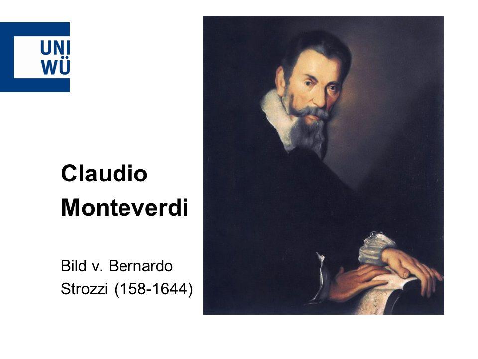 Claudio Monteverdi Bild v. Bernardo Strozzi (158-1644)