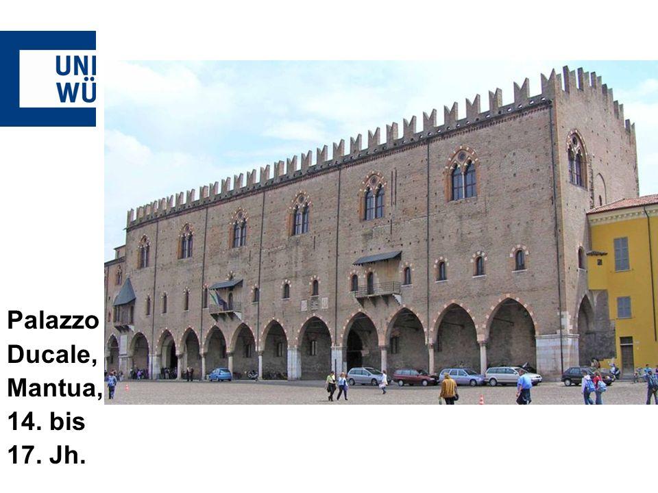 Monteverdi lOrfeo Palazzo Ducale, Mantua, 14. bis 17. Jh.