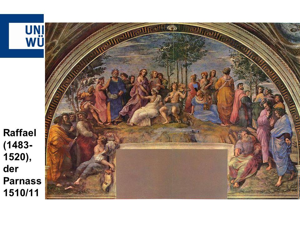 Raffael (1483- 1520), der Parnass 1510/11 Raffael