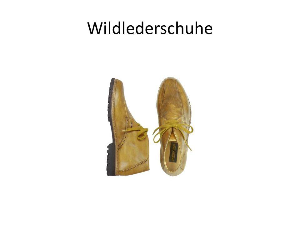 Wildlederschuhe