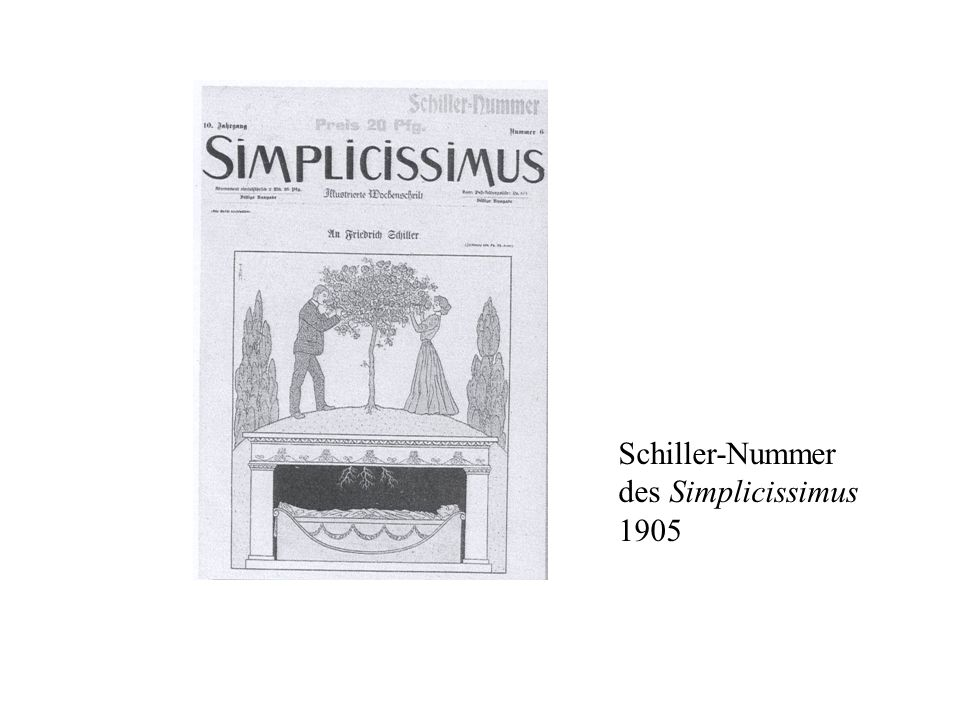 Schiller-Nummer des Simplicissimus 1905