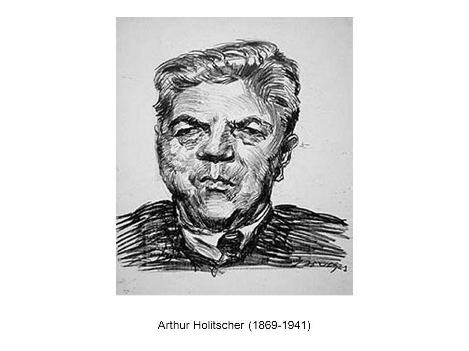Arthur Holitscher (1869-1941)