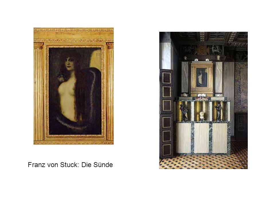 Franz von Stuck: Die Sünde
