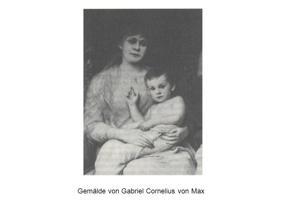 Gemälde von Gabriel Cornelius von Max