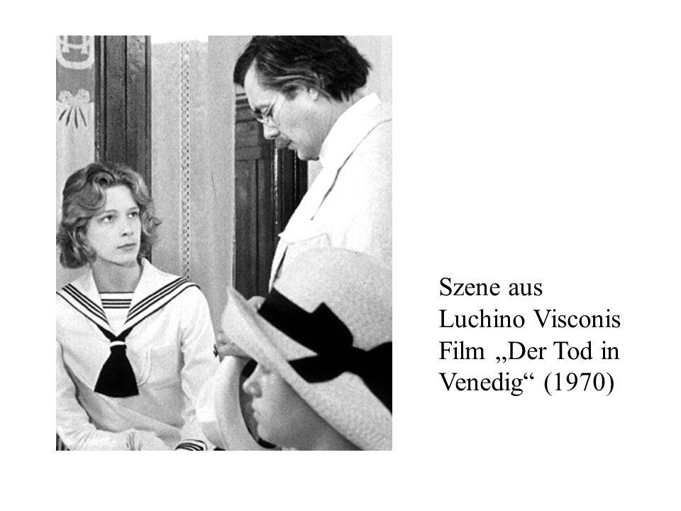 Szene aus Luchino Visconis Film Der Tod in Venedig (1970)