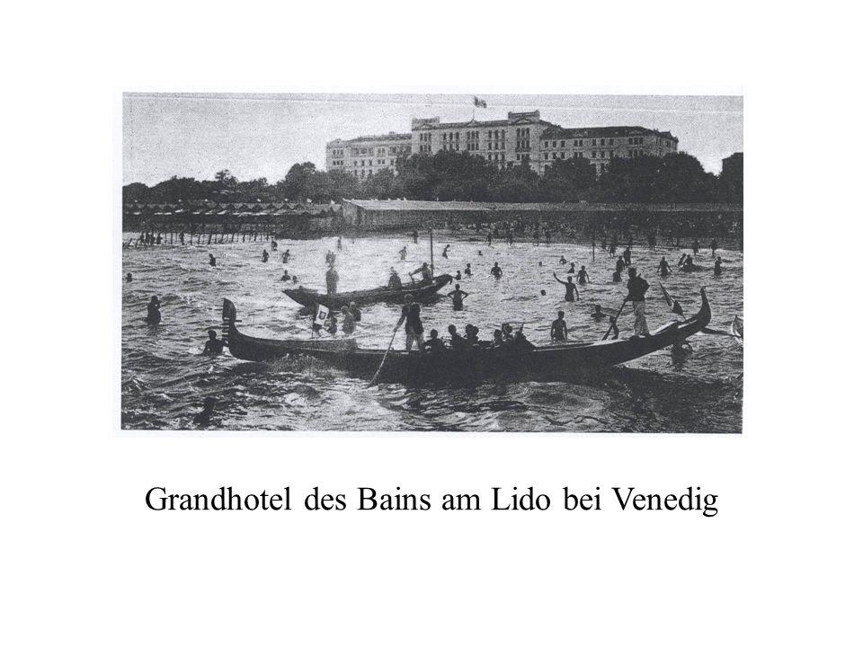 Grandhotel des Bains am Lido bei Venedig