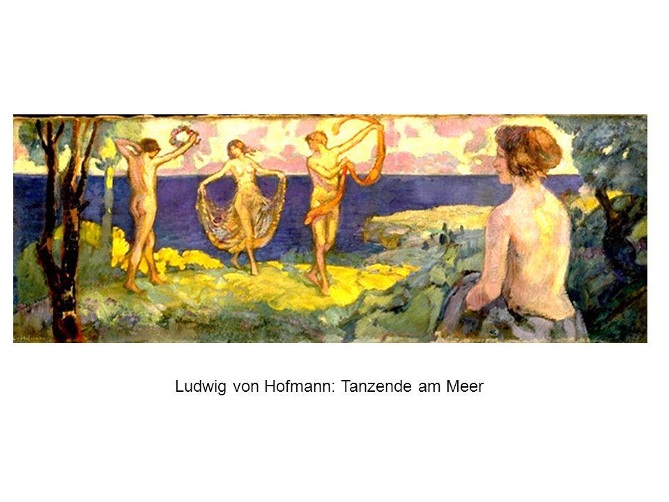 Ludwig von Hofmann: Tanzende am Meer