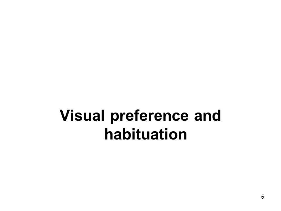 5 Visual preference and habituation
