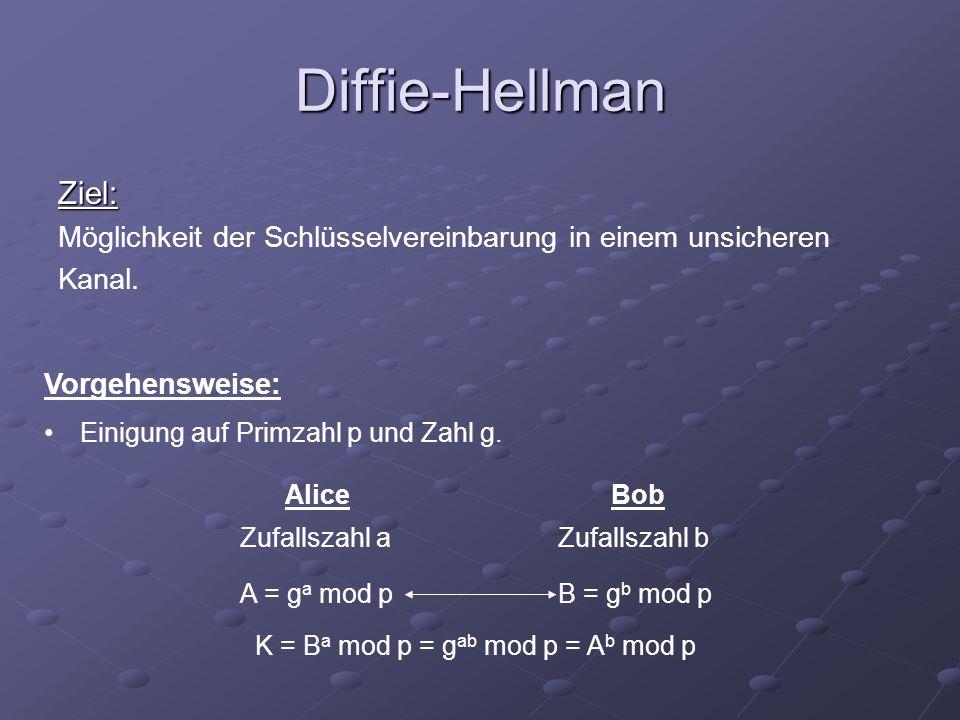 Warum ist Diffie-Hellman sicher.