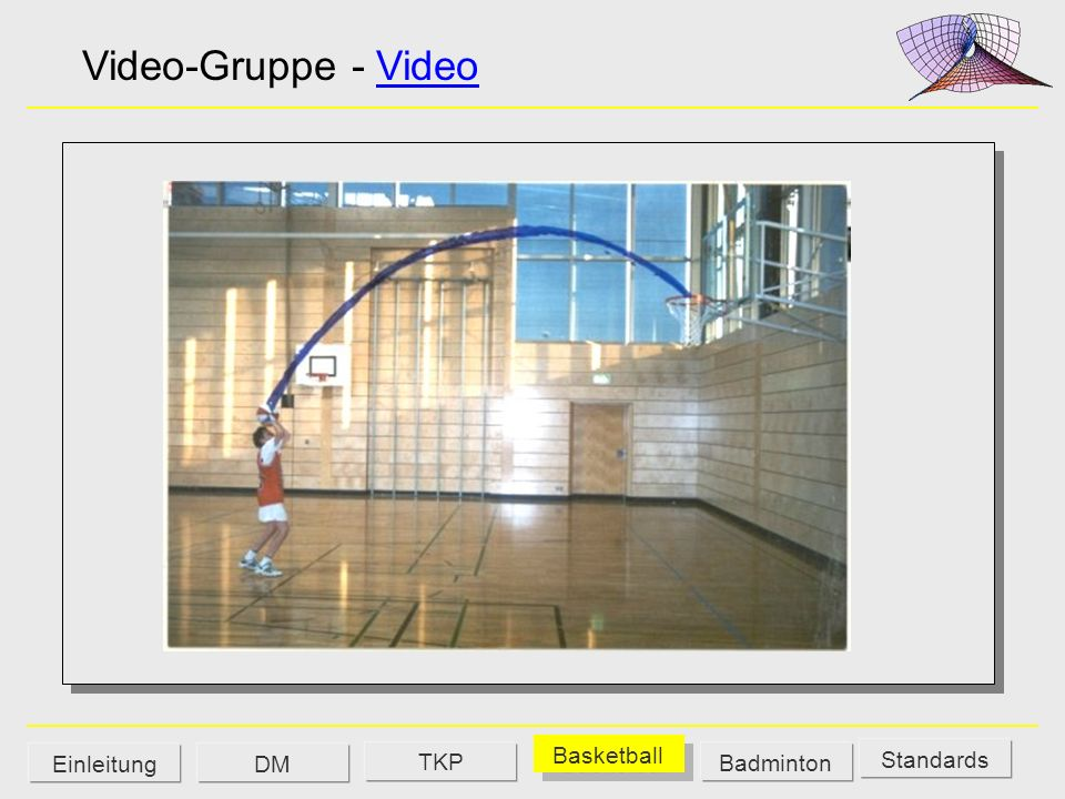 Video-Gruppe - VideoVideo Standards DM Basketball Badminton Einleitung TKP