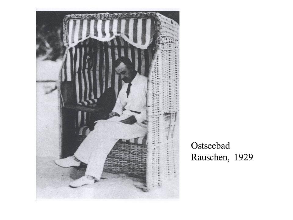 Ostseebad Rauschen, 1929