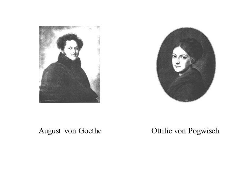August von GoetheOttilie von Pogwisch