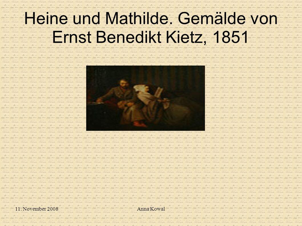 11. November 2008Anna Kowal Heine und Mathilde. Gemälde von Ernst Benedikt Kietz, 1851