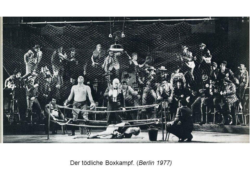 Der tödliche Boxkampf. (Berlin 1977)