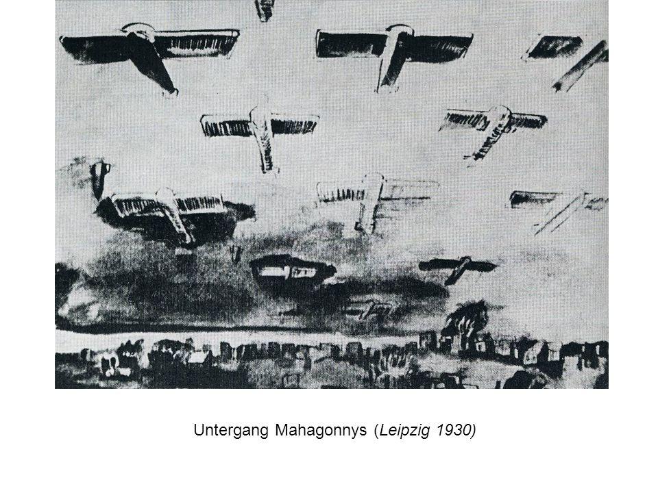 Untergang Mahagonnys (Leipzig 1930)