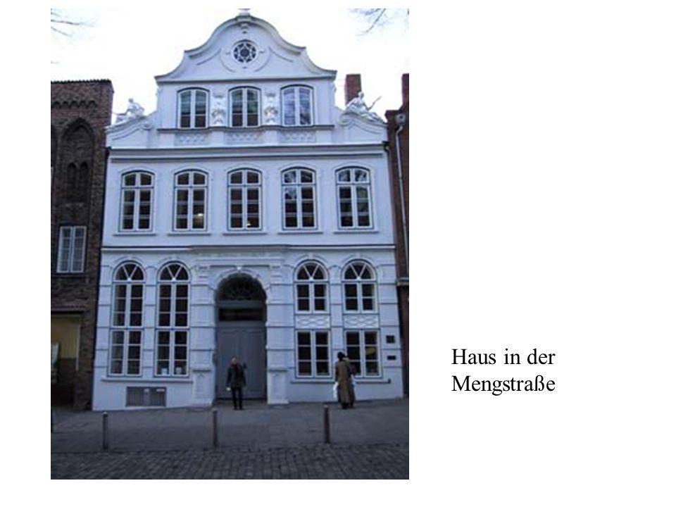 Haus in der Mengstraße