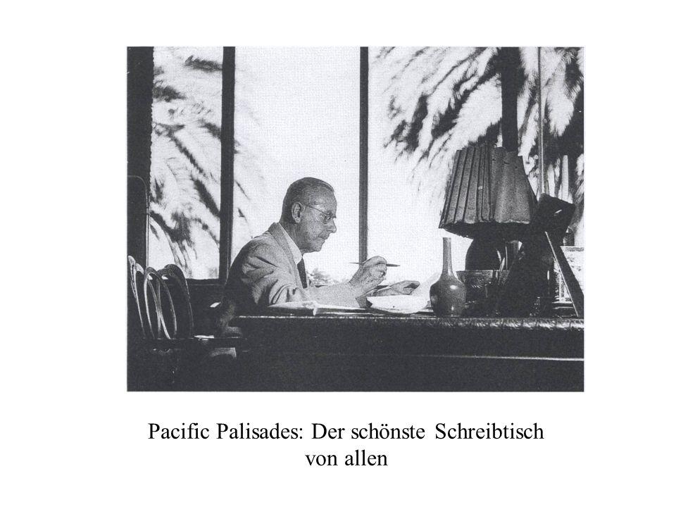 Pacific Palisades: Der schönste Schreibtisch von allen