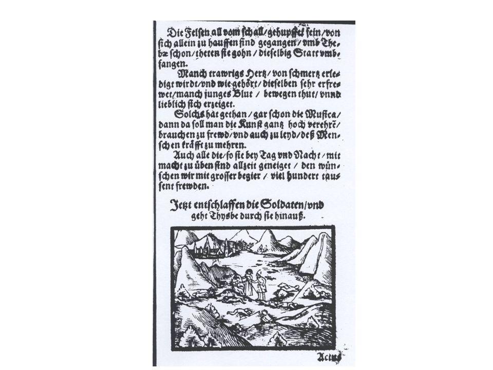 Samuel Israel: Pyramus und Thysbe, Klage der Waldnymphen um das tote Liebespaar. (Auszug)