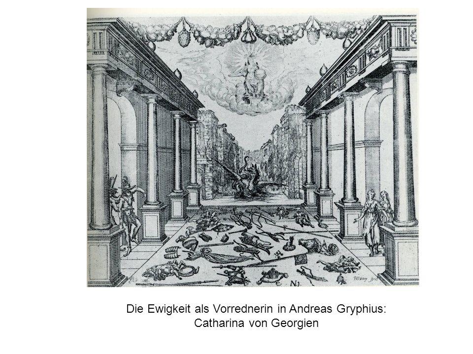 Johann Christian Hallmann: Mariamne (1670), Prolog (Beginn) Der Schau-Platz stellet vor ein Gebürge in und umb Jerusalem.