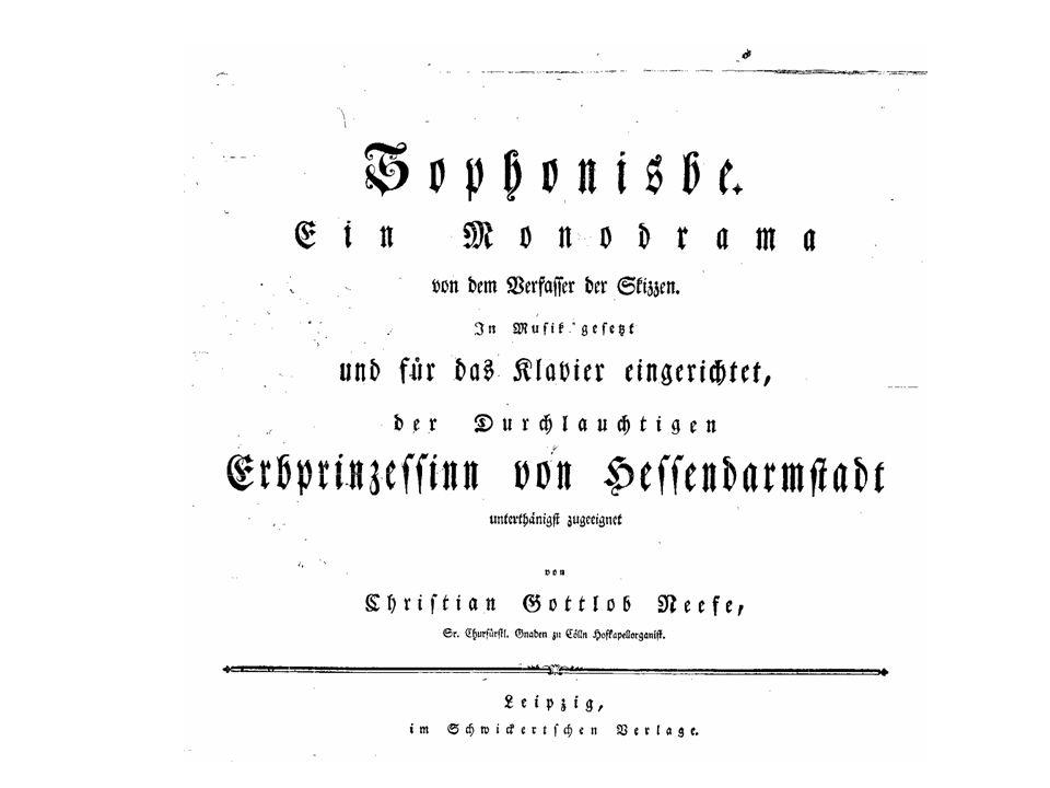 Neefe/Meißner: Sophonisbe
