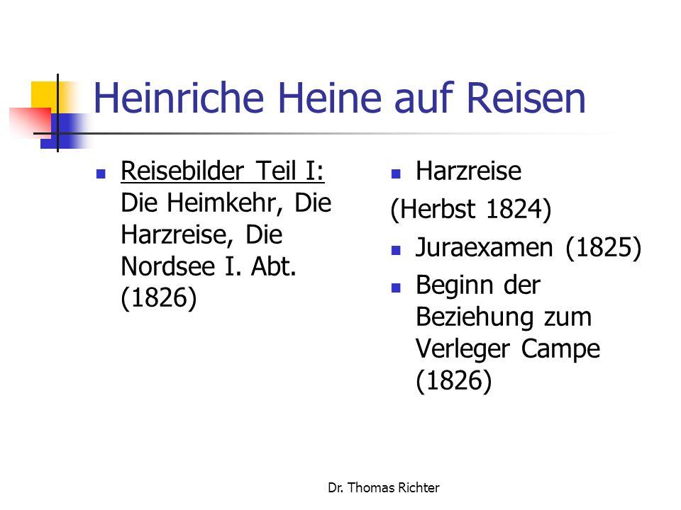 Dr.Thomas Richter Konstruktion und Dekonstruktion Welches Naturbild wird in Kapitel III (S.