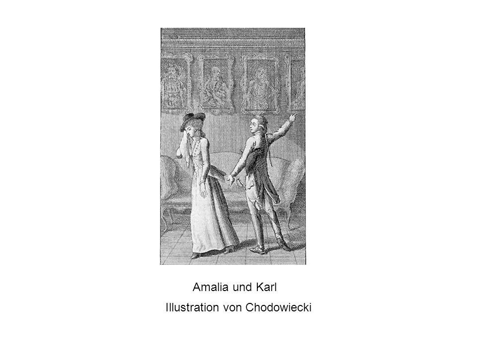 Illustration von Chodowiecki Amalia und Karl