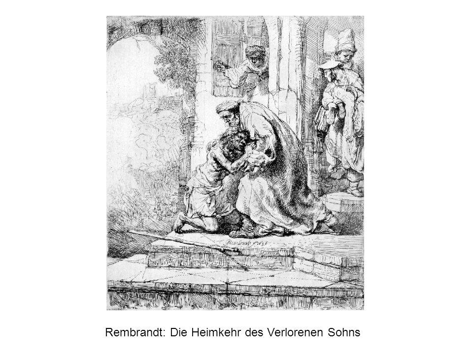 Rembrandt: Die Heimkehr des Verlorenen Sohns