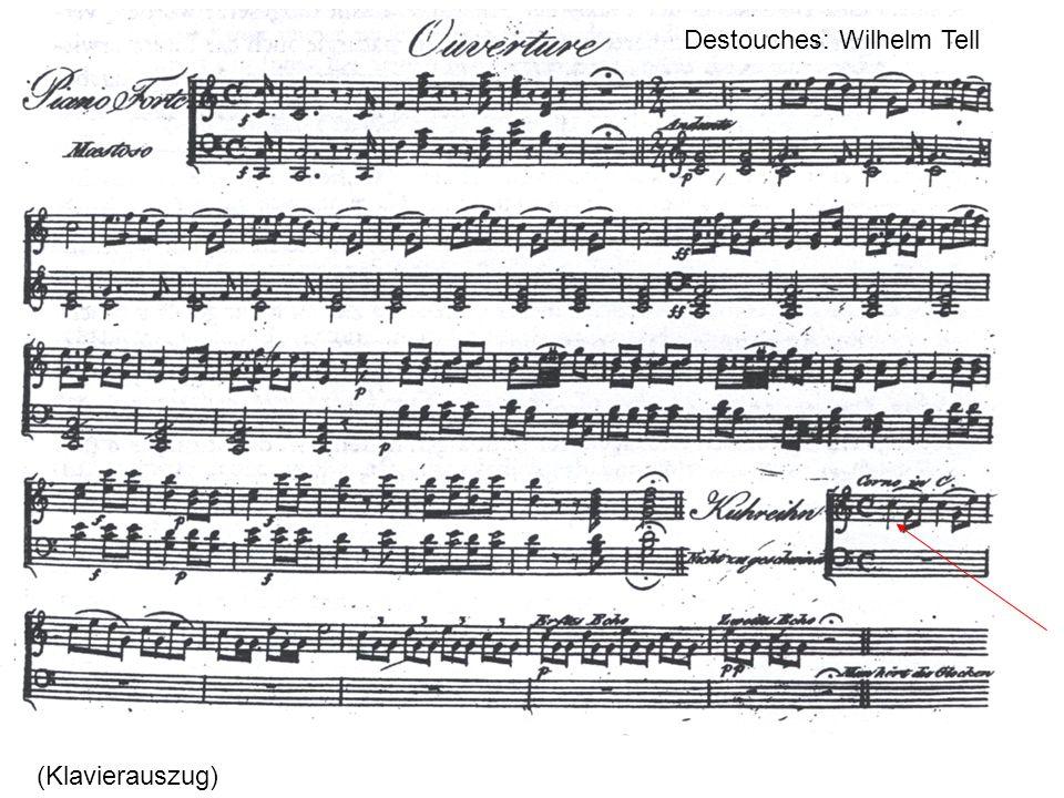 Destouches: Wilhelm Tell (Klavierauszug)