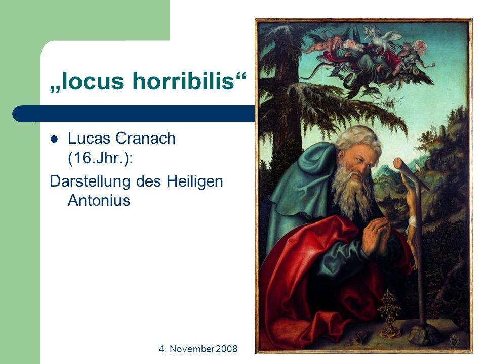 4.November 2008Dr. Thomas Richter Ansichten der Natur II Über Steppen und Wüsten, S.11f.