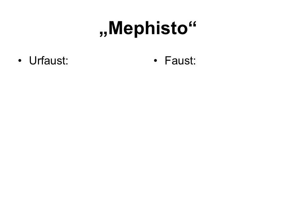 Urfaust:Faust: