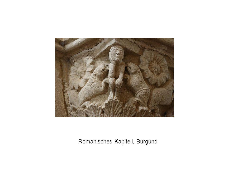 Romanisches Kapitell, Burgund