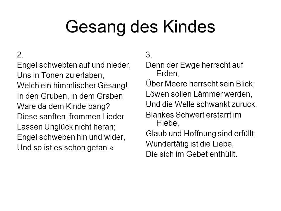 Gesang des Kindes 2.
