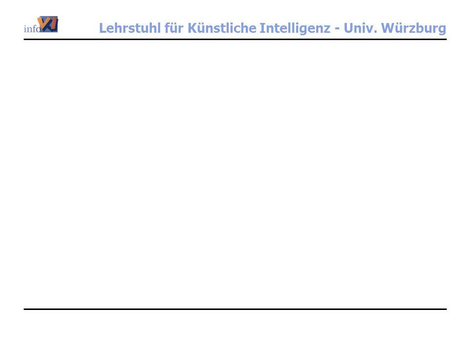 Lehrstuhl für Künstliche Intelligenz - Univ. Würzburg
