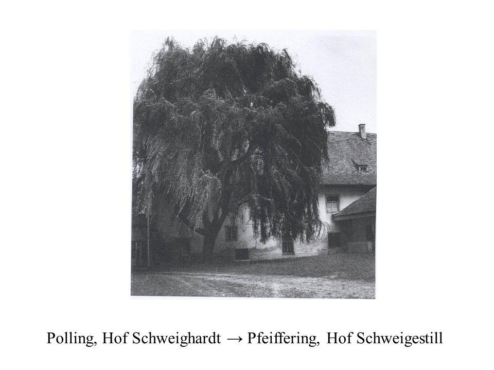 Polling, Hof Schweighardt Pfeiffering, Hof Schweigestill