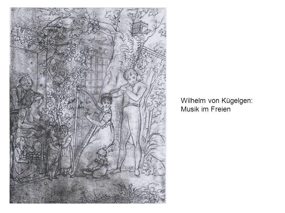 Wilhelm von Kügelgen: Musik im Freien