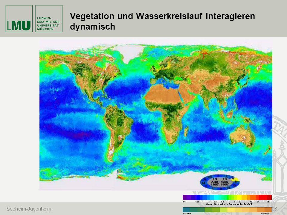 Seeheim-Jugenheim 5.6.2008 Vegetation und Wasserkreislauf interagieren dynamisch