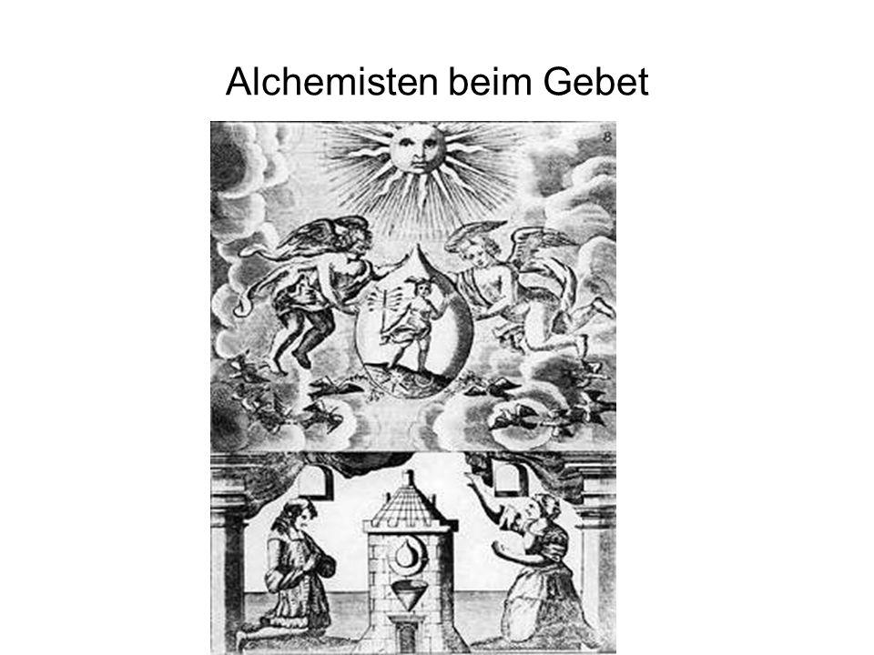 Alchemisten beim Gebet