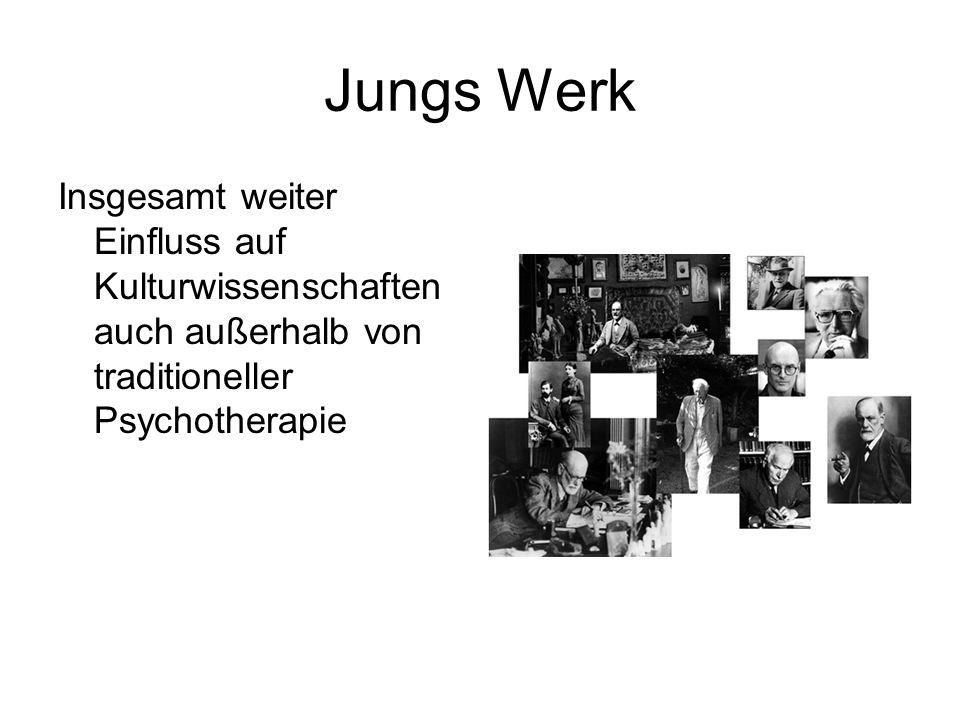 Jungs Werk Insgesamt weiter Einfluss auf Kulturwissenschaften auch außerhalb von traditioneller Psychotherapie