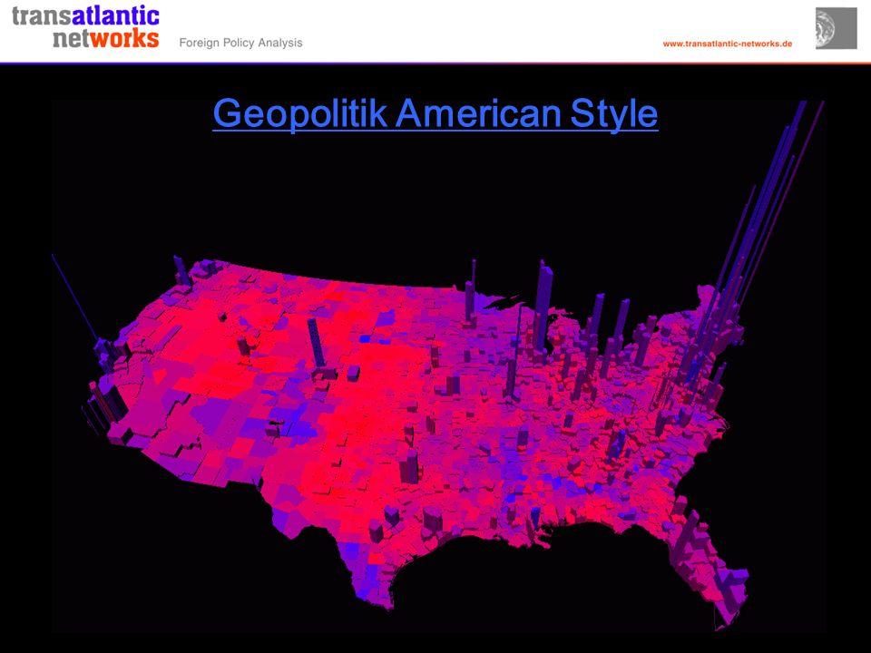 Geopolitik American Style
