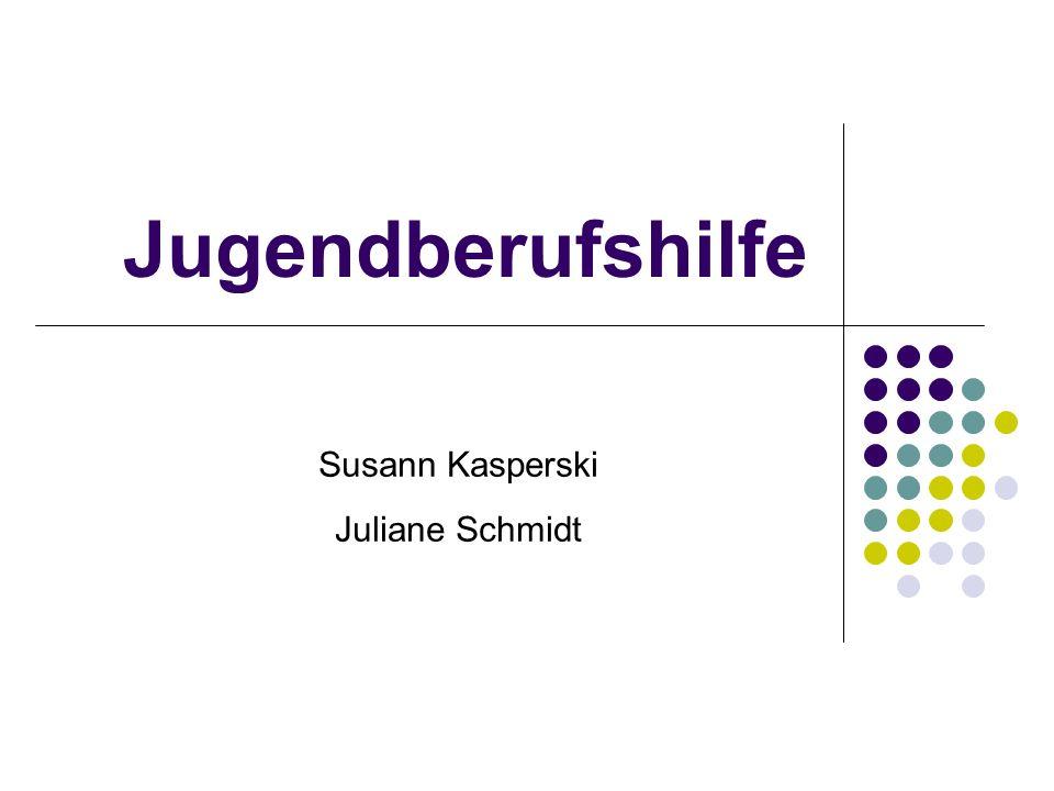 Gliederung 1.Jugendberufshilfe – Warum. 2. Definition 3.