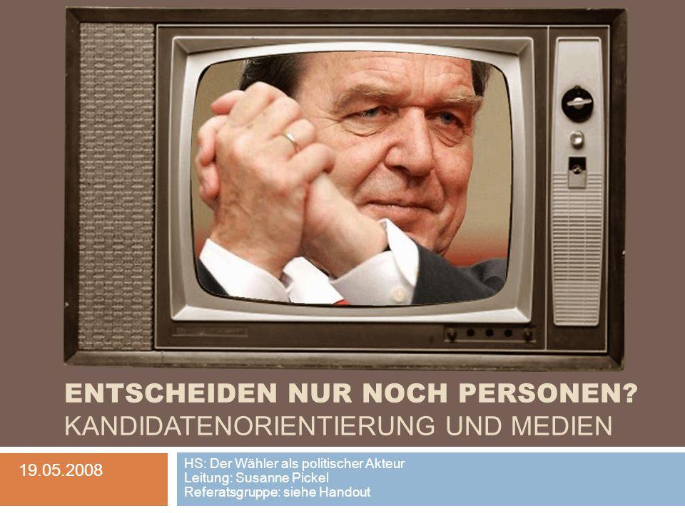 Inhalt 1.Der Gesellschaftswandel im Spannungsfeld der politischen Kommunikation 2.