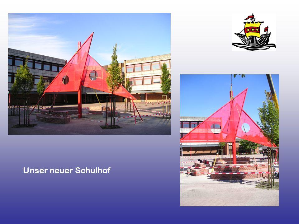 Unser neuer Schulhof