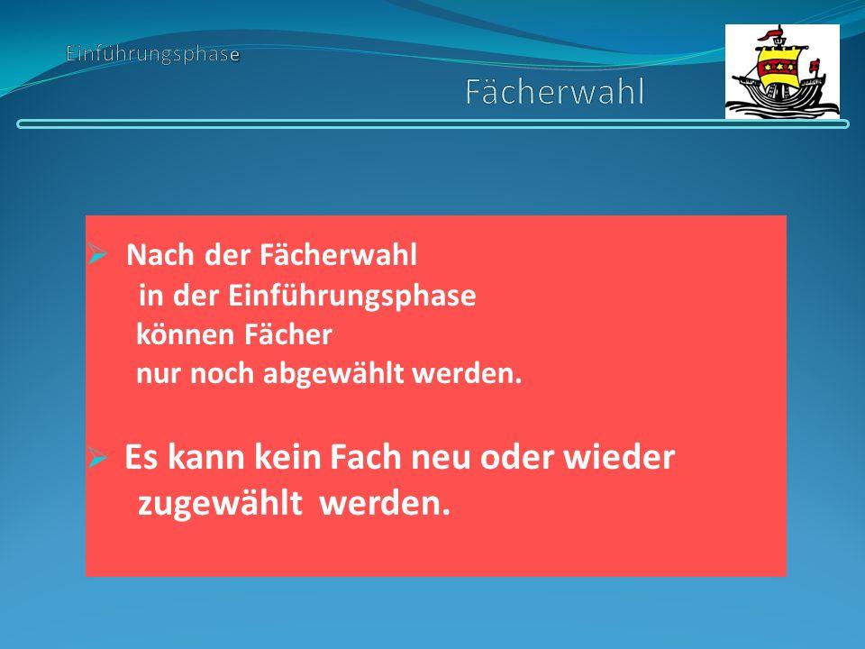 zwei weitere frei wählbare Kurse Deutsch eine Gesellschaftswissenschaft Mathematik Religion bzw.